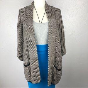 SPLENDID Chunky Knit Oversized Cardigan Small